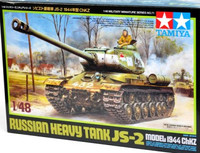 Russian JS2 Model 1944 ChKz Heavy Tank 1/48 Tamiya