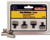 Tidy Track Dust Monkeys Cleaner N Scale Woodland Scenics