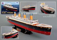 Titanic Ocean Liner (113pcs) Cubic Fun