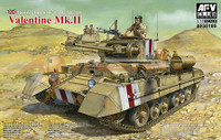 British Mk III Valentine Mk II Infantry Tank 1/35 AFV Club