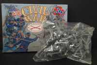 Civil War Confederate Infantry (22) 1/32 Classic Toy Soldiers