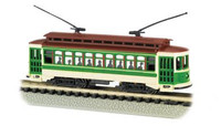 Brill Trolley Green/Beige N Bachmann Trains