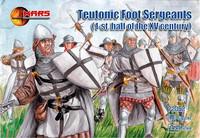 Century Teutonic Foot Sergeants 1st Half XV  (48) 1/72 Mars Figures