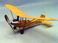 "Air Camper Rubber Pwd Aircraft Laser Cut Kit 18"" Wingspan Dumas"