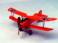 "Albatros D5 Rubber Pwd Aircraft Laser Cut Kit 18"" Wingspan Dumas"
