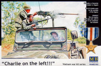 Charlie on Left! US Jeep Crew & Viet Cong 1/35 Master Box