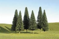 "Scenescape 5""-6"" Pine Trees (6/pk) Bachmann Trains"