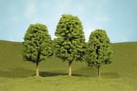 """Scenescape 3""""-4"""" Deciduous Trees (3/pk) Bachmann Trains"""