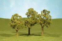 "Scenescape 3""-4"" Elm Trees (3/pk) Bachmann Trains"
