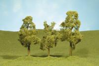 """Scenescape 3""""-3-1/2"""" Oak Trees (3/pk) Bachmann Trains"""