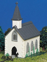 Country Church Building Built-Up N Bachmann Trains