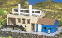 Factory Building Built-Up N Bachmann Trains
