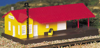 Freight Station Building Built-Up N Bachmann Trains