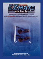 Under Shank-Long E-Z Mate Mark II  Magnetic Knuckle Couplers w/Metal Coil Spring (12pr/cd) HO Bachmann Trains