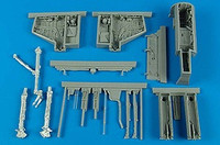 A-4E/F Skyhawk Wheel Bay & Gun Bay (For TRP) 1/32  Aires