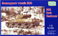 M36 Tank Destroyer 1/72 UniModels