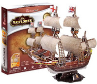 Mayflower Sailing Ship (111pcs) Cubic Fun