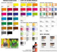 60mm Acrylic Paint Bottles Premium Colors Vallejo