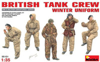 British Tank Crew Winter Uniform (5) 1/35 Miniart