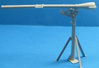 WWII US Army 75mm Recoilless Rifle T21 w/T47 Pedestal 1/35 LZ Models
