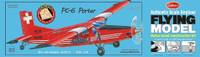 "PC-6 Porter Laser Cut 26-1/16"" Wingspan Guillows"