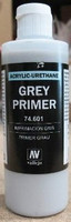200ml Bottle Grey Primer Vallejo Paint