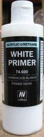 200ml Bottle White Primer Vallejo Paint