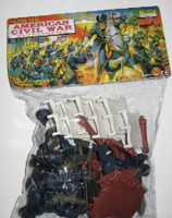 54mm Civil War Figures & Accessories Playset 49pcs Playsets