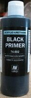 200ml Bottle Black Primer Vallejo Paint