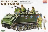 M113A1 APC Vietnam Version 1/35 Academy