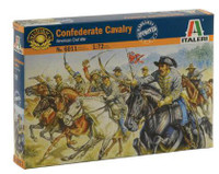 American Civil War Confederate Cavalry (17 Mtd) 1/72 Italeri