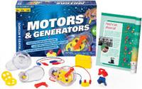 Motors & Generators Experiment Kit Thames & Kosmos