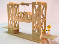 Truss Design Moving Lift Bridge Wood Kit Pathfinders