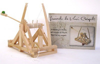 Leonardo DaVinci Catapult Wood Kit Pathfinders