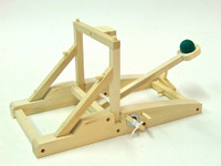 Medieval Catapult Wooden Kit Pathfinders