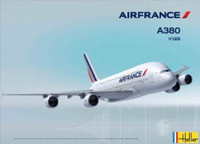 A380 Air France Commercial Airliner 1/125 Heller
