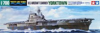 US Yorktown CV-5 Aircraft Carrier Waterline 1/700 Tamiya
