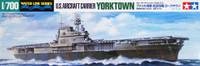 US Yorktown CV-5 Aircraft Carrier Waterline 1/700 Tamiya