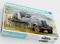 German SdKfz 8 Halftrack w/8.8 cm Flak 18 Selbstfahrlafette 1/35 Trumpeter