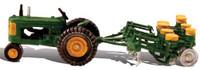 HO Autoscene Tractor & Planter Woodland Scenics
