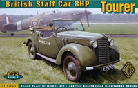 British 8HP Tourer Staff Car 1/72 Ace Models