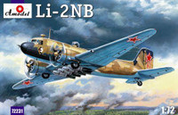 Lisunov Li-2NB Soviet Light Bomber 1/72 A-Model