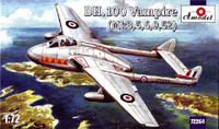 DeHavilland DH.100 Vampire Mk.3/5/6/9/52 Aircraft 1/72 A-Model