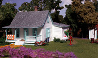 Country Cottage w/Porch & Shed Building Kit N Woodland Scenics