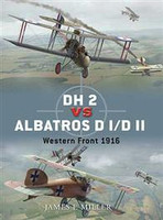Duel DH2 vs Albatros DI/DII Western Front 1916 Osprey Books