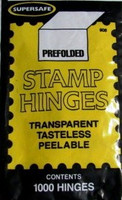 1000 Pregummed Folded Stamp Hinges Harris Stamps
