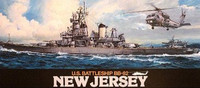 USS New Jersey BB-62 1/350 Tamiya