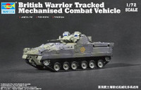 British Warrior Tracked Mechanized combat Vehicle 1/72 Trumpeter