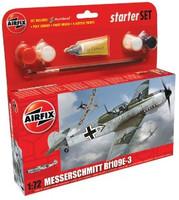 Messerschmitt Bf109-E Starter Set 1/72 Airfix