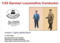 German Locomotive Conductor 1/35 LZ Models